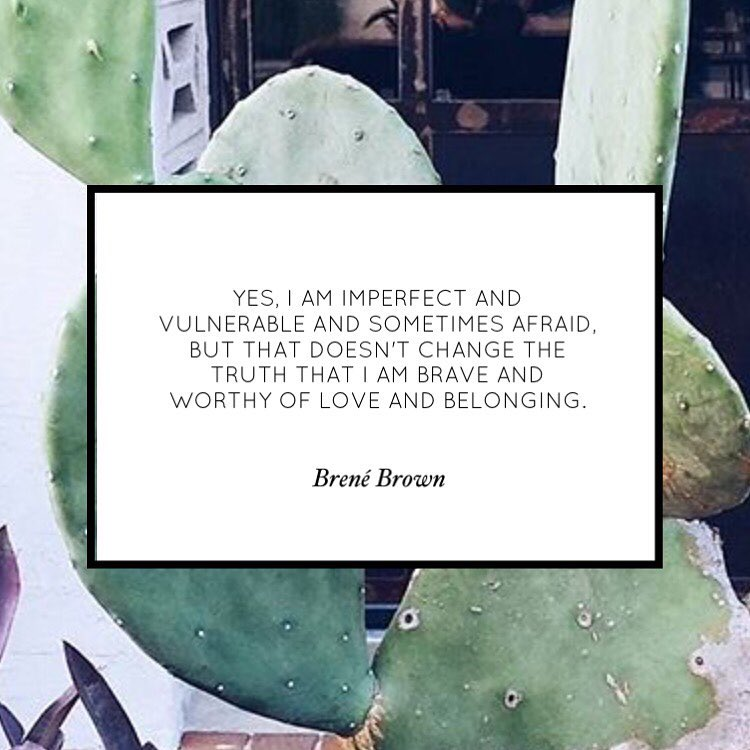 A little truth from brenebrown for the night owls Goodnight