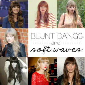 Blunt Bangs & Soft Waves // Thoughts By Natalie