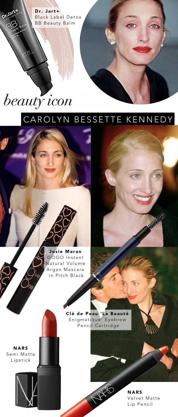 Beauty Icon: Carolyn Bessette Kennedy