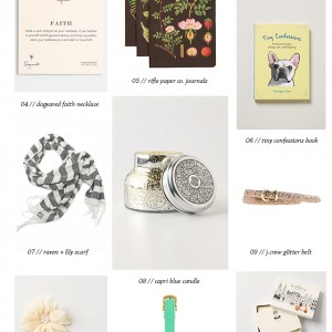 Gift Ideas for Girlfriends // thoughtsbynatalie.com
