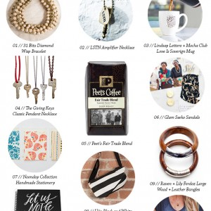 Gift Ideas That Give Back // thoughtsbynatalie.com