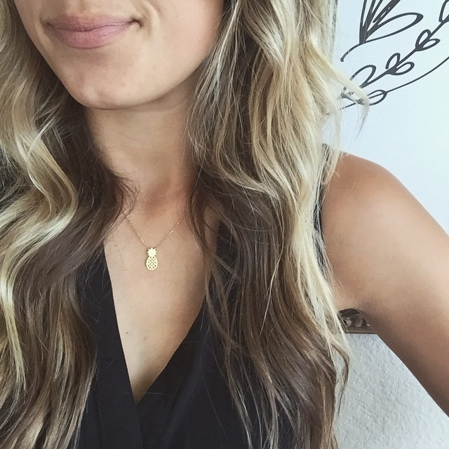 So obsessed with my newest necklace from rocksbox! Get ahellip