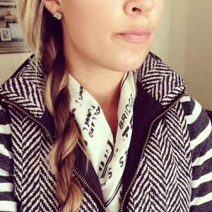 How To Do A Rope Braid // thoughtsbynatalie.com