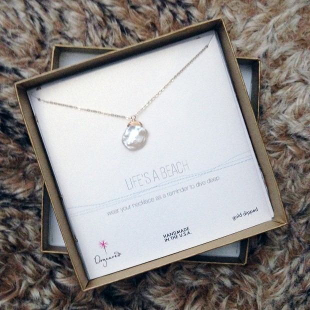 Dogeared Necklace Giveaway from The Jeweler's Wife // thoughtsbynatalie.com