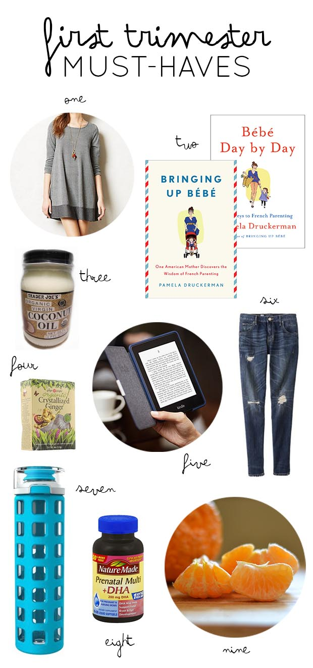 First Trimester Must-Haves // thoughtsbynatalie.com
