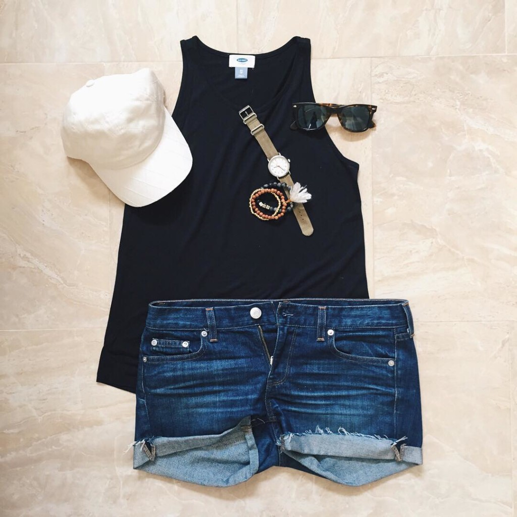 Easy everyday summer style If Im not wearing a dresshellip