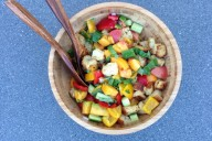 Ina Garten's Panzanella Salad | Thoughts By Natalie