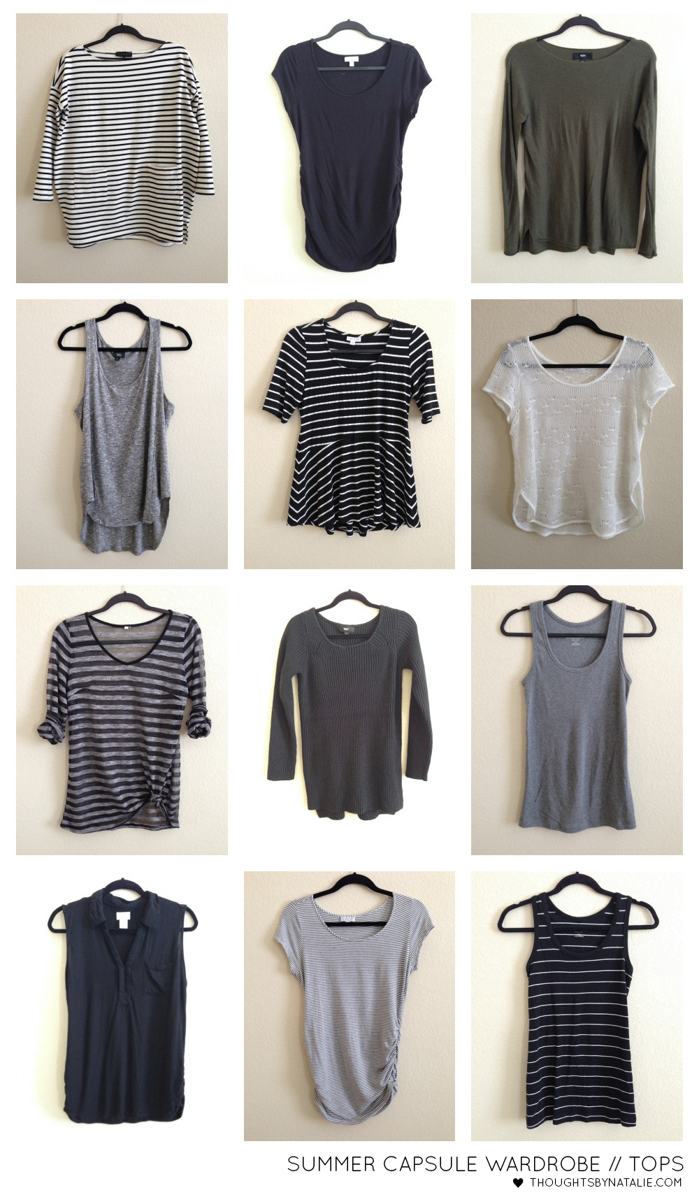 Summer 2014 Capsule Wardrobe | Thoughts By Natalie