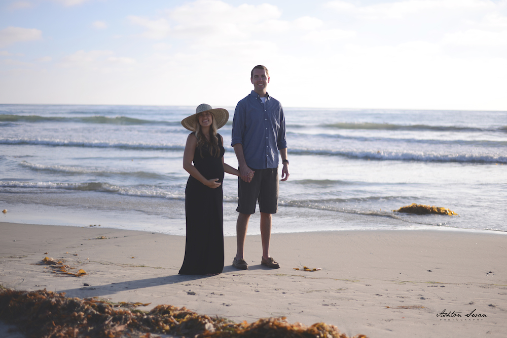 30 Week Beach Maternity Shoot | Thoughts By Natalie
