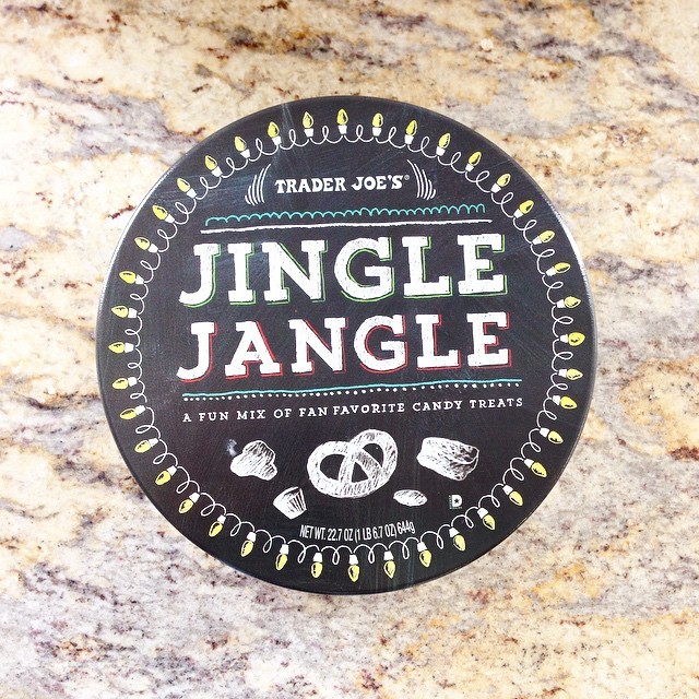 Trader Joe's has so many addictive holiday treats. Can't stop eating this chocolatey Jingle Jangle mix!