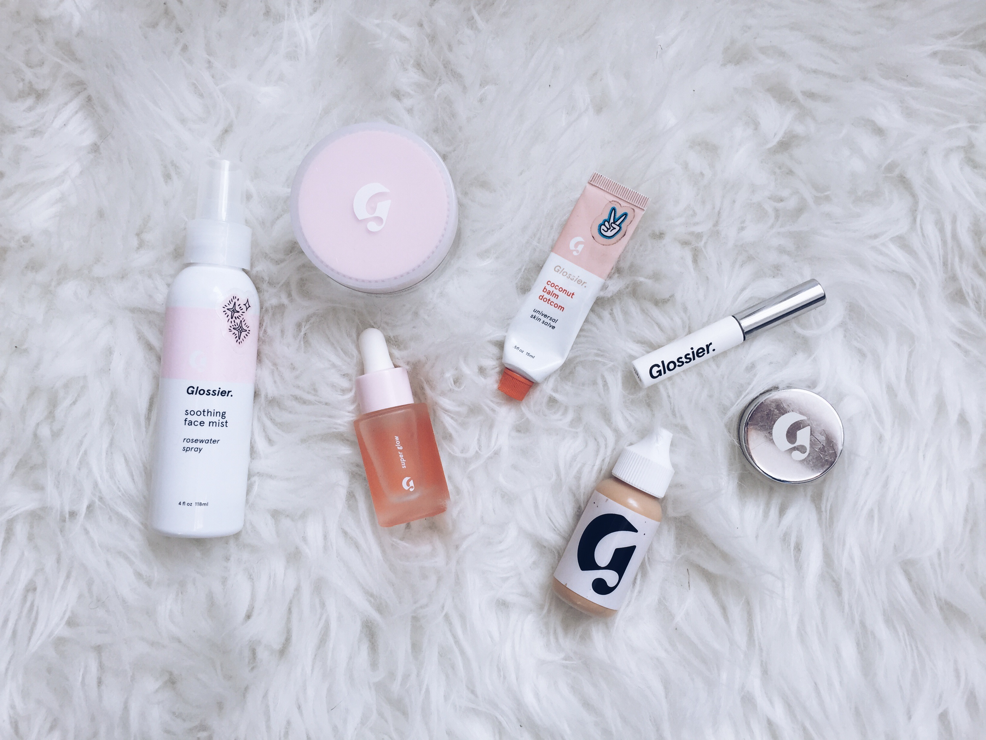 Shop Glossier with Me